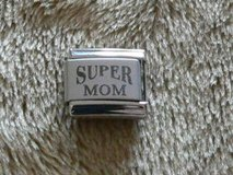 NEW!! Uberry Italian Charm Laser Engraved Super Mom in Okinawa, Japan