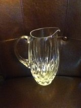 Miller Rogaska Crystal Glass Water Pitcher in Fort Campbell, Kentucky