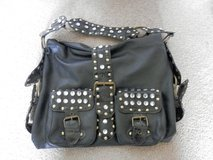 Black Studded and Gem Purse in Fort Riley, Kansas