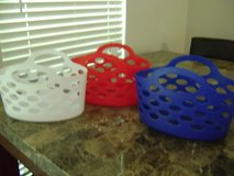 Very Cool Red, White, Blue Craft Totes in Houston, Texas